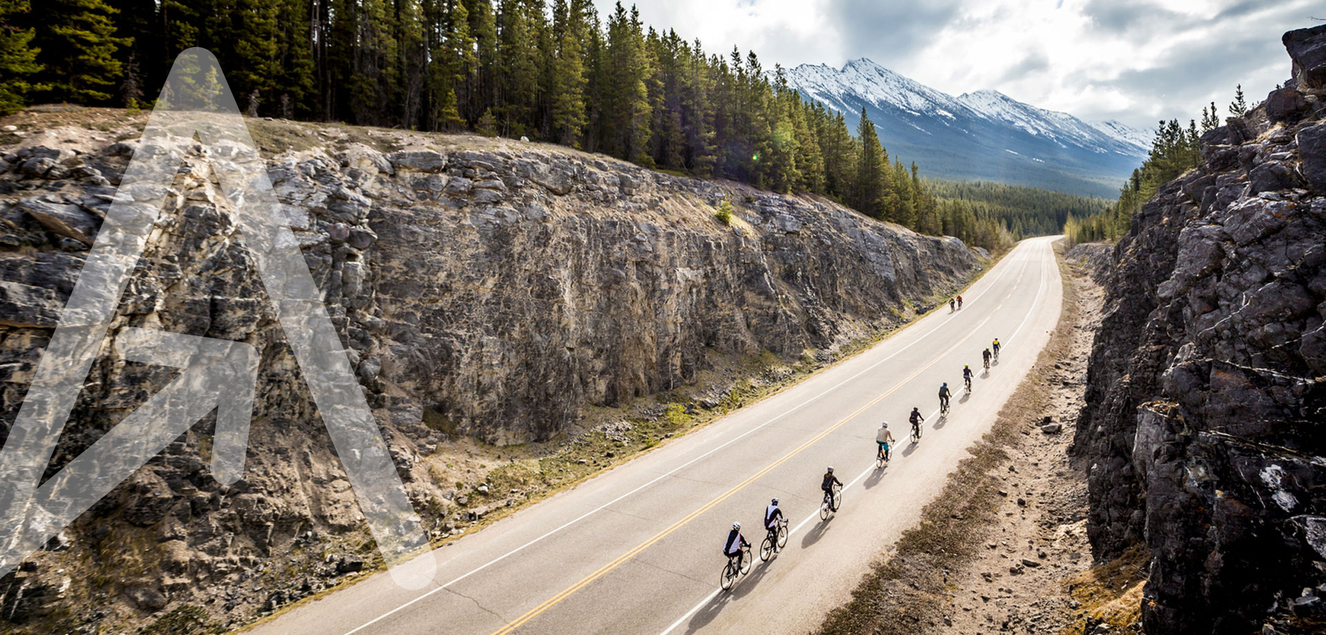 Cycling through the Rockies